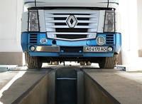 Роликовый стенд для испытания тормозной системы грузовых автомобилей HF 13/30