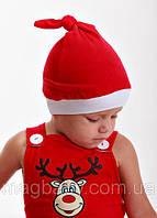 Шапочка Санта Клауса от 0 до 12 мес