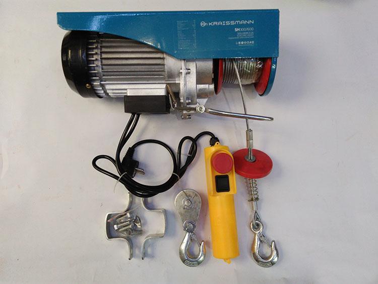 Тельфер электрический KRAISSMANN SH 200/400