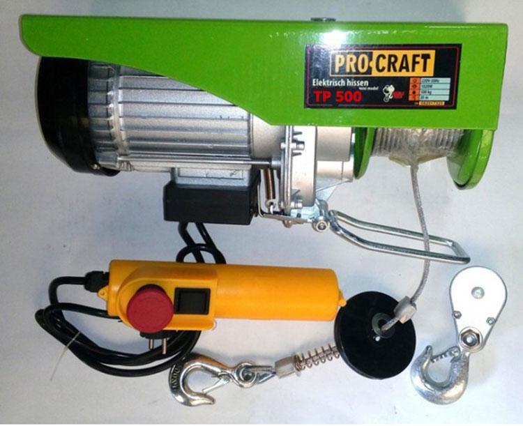 Тельфер электрический Procraft TP 250/500