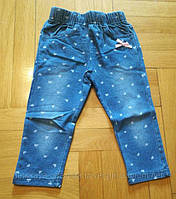Лосины с имитацией джинса для девочки 1-5 лет