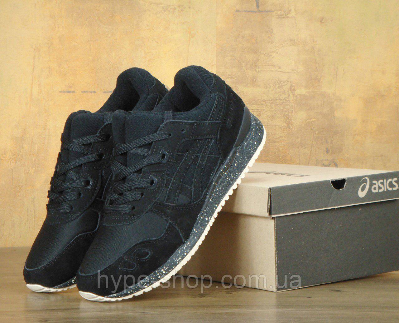 Мужские черные кроссовки Asics | Люкс Реплика