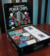 Покерный набор Техас Холдем (100 фишек)