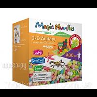 Детский Развивающий Конструктор 5826 Magic Nuudles 900 деталей Игрушки, Мягкий и липкий конструктор для детей