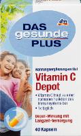 Биологически активная добавка Das Gesunde Plus Vitamin C Depot, 40 шт.