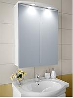 Шкаф зеркальный Garnitur.plus в ванную с LED подсветкой 18N