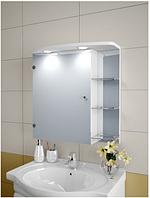 Шкаф зеркальный Garnitur.plus в ванную с LED подсветкой 25SZ