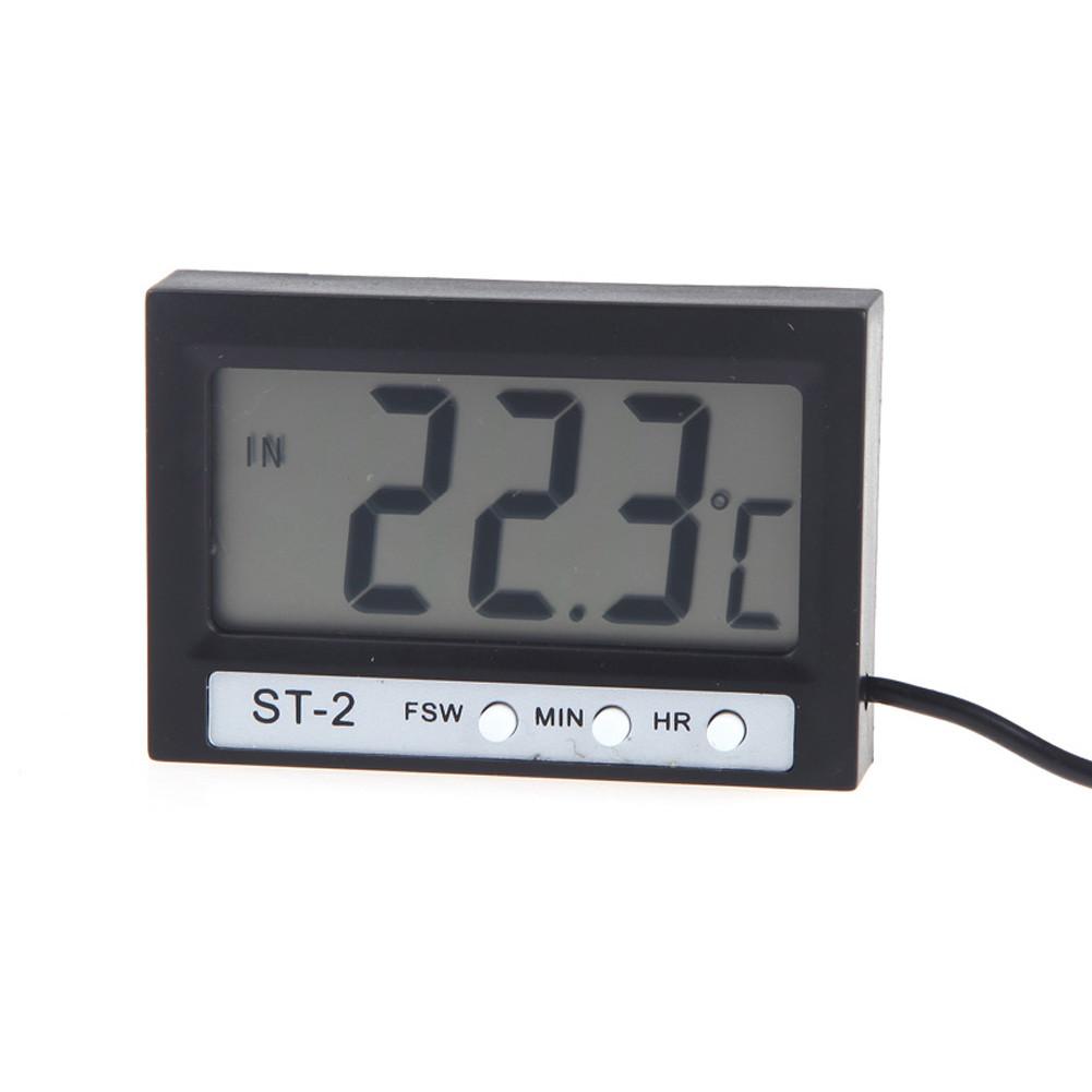 Цифровой термометр часы ST2 с выносным датчиком