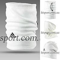 Горловик (Баф) Adidas белый