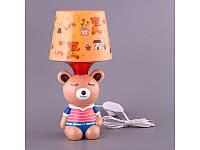 Светильник с абажуром Fashion Lamp Мишка 32 см 39-223