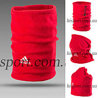 Горловик (Баф) Adidas красный