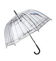 Прозрачный купольный зонт