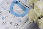 """Набор одежды """"Сюрприз""""- 7 предметов, цвет голубой, фото 3"""