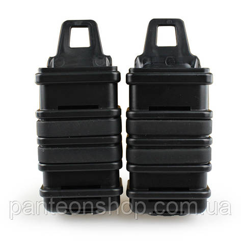 Підсумок подвійний FastMag MP7 BLACK, фото 2