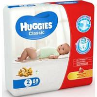 Huggies. Подгузники Huggies Classic 2 (3-6 кг), 88 шт (544816)