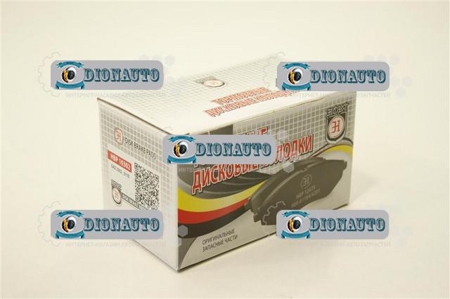 Колодка передняя тормозная 3302, 2705, 2217 HORT к-т HBP10302 ГАЗ-2705 (ГАЗель) (3302-3501170)