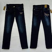 Джинсовые штаны на флисе для девочки Sercino Турция