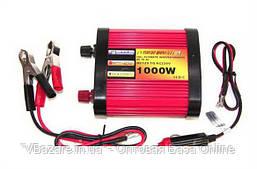 Преобразователь напряжения POWER INVERTER 1000-12 W 790 gm