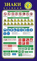 Стенд Знаки безпеки