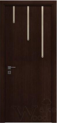 Двери межкомнатные шпон/покраска CRYSTAL 02