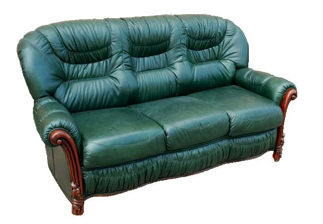 Прямой кожаный диван Чианти (190 см)