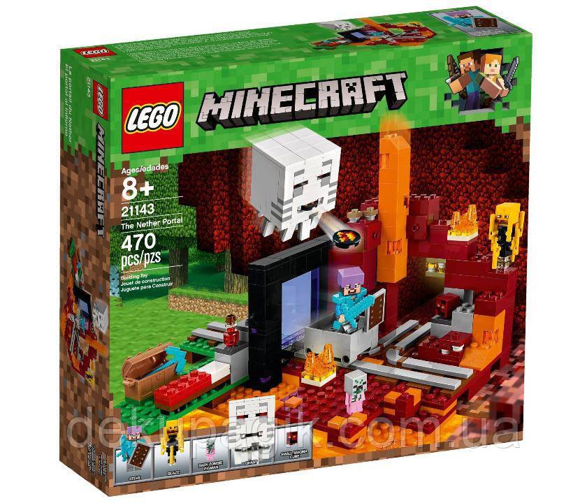 Lego Minecraft Портал в Подземелье 21143