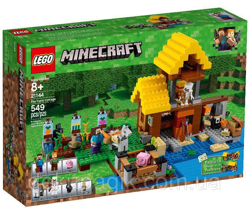 Lego Minecraft Фермерский коттедж 21144