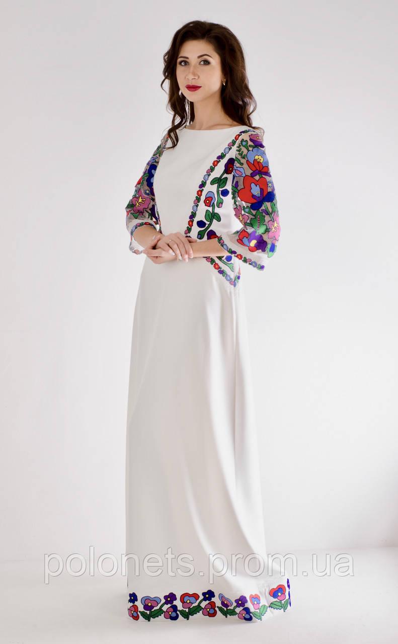 Дизайнерська сукня вишита  продажа c3a85ea883cc0
