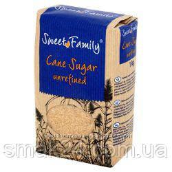 Сахар тростниковый коричневый Sweet Family Германия 1кг