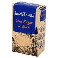 Сахар тростниковый коричневый Sweet Family Германия 1кг, фото 1
