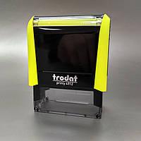 Оснастка для штампа TRODAT 4912, 18х47 мм, корпус пластиковый