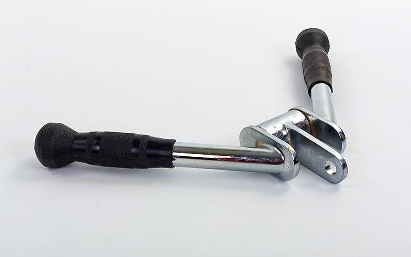 Рукоятка для тяги V-образная с вращающимся подвесом и PU накладкой (р-р 30x44см)