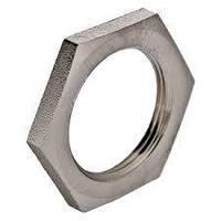 Контргайка усиленная латунная,никелированная,вр  1 Valtec