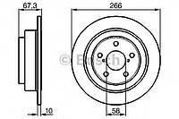 Тормозной диск задний Subaru Impreza(GD)(2000-) Bosch(0986478799)