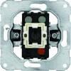 Hager Механізм вимикача 2-клавішного, комплект з лампою тліючого розряду (б/гвинт) 10А / 230В (11016702)