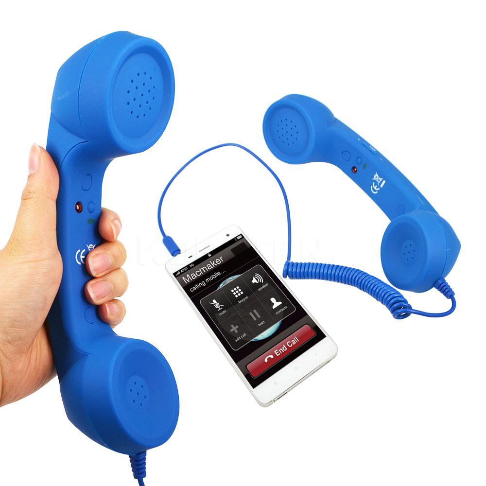 Трубка для телефона в ретро стиле! Оригинальная гарнитура для смартфона!