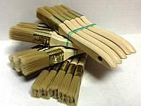 Кисть флейцевая 25/14 нейлоновая с деревянной ручкой