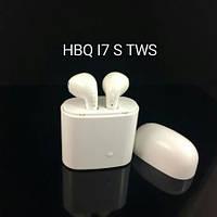 Беспроводные наушники HBQ I7S TWS с зарядным кейсом White