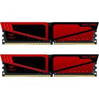 Модуль памяти для компьютера DDR4 16GB (2x8GB) 3000 MHz T-Force Vulcan Red Team (TLRED416G3000HC16CDC01)