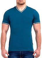 Однотонная мужская футболка оптом и в розницу