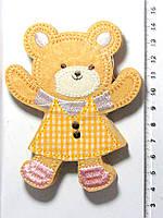 Термо-нашивка - Медвежонок (10,5х8,5см) 1558-02