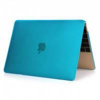 """Синий пластиковый чехол Soft Touch для MacBook Air 11"""""""