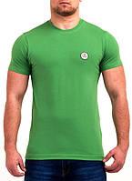Однотонная мужская футболка от производителя