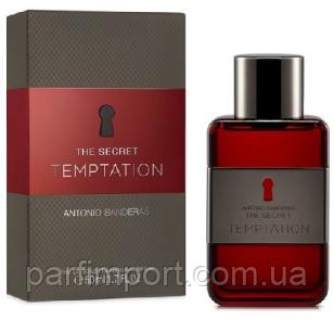 ANTONIO BANDERAS Secret Temptation EDT 50 ml  туалетная вода мужская (оригинал подлинник  Испания)