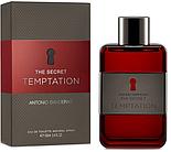 ANTONIO BANDERAS Secret Temptation EDT 50 ml  туалетная вода мужская (оригинал подлинник  Испания), фото 4