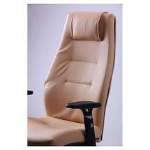 Кресло Элеганс НВ Неаполь-34 (салатовый), боковины/задник Неаполь-23 (серый) TM AMF, фото 3