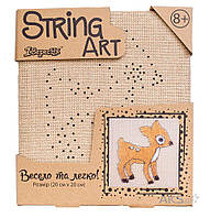 Игра 1 Вересня Стринг-арт Оленёнок (952913)