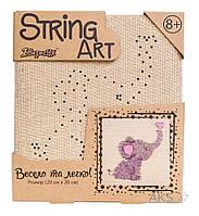 Игра 1 Вересня Стринг-арт Слоник (952901)