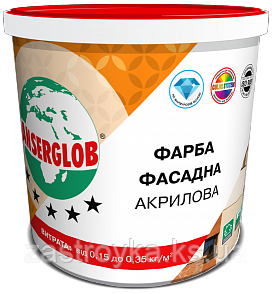 Фарба фасадна акрилова універсальна ANSERGLOB, 14кг