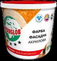 Краска фасадная акриловая универсальная ANSERGLOB, 1,4кг